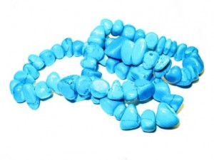 turquoise beads (turquoise necklace)