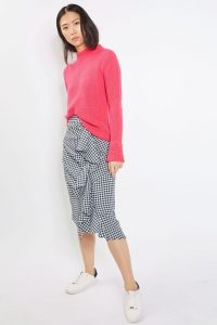 Gingham Skirt from Top Shop