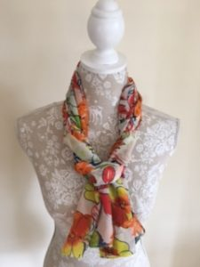 Turn your scarves into a fashion accessory