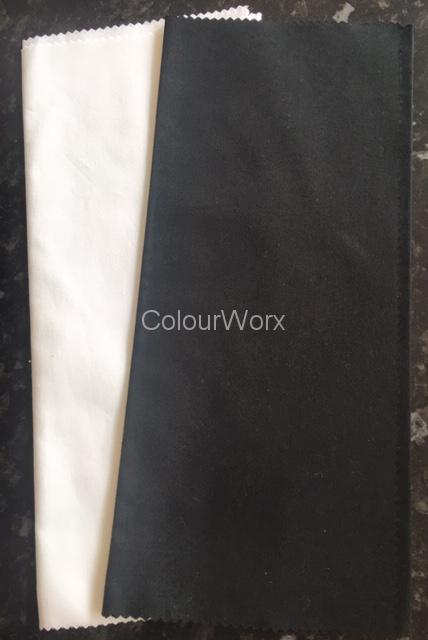 How can I change from wearing black to choosing colour?