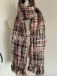 Winter Scarf - Old Rose