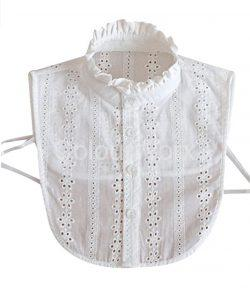 White stand up collar