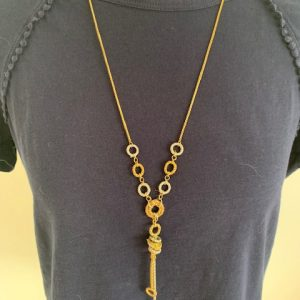 3 Ring Knot Necklace