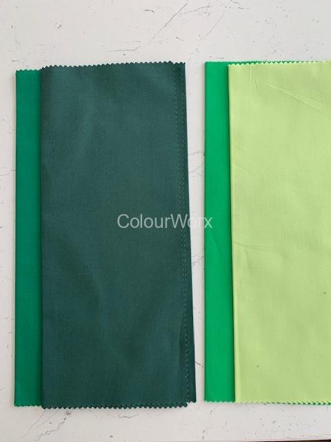 Cool & Warms Greens